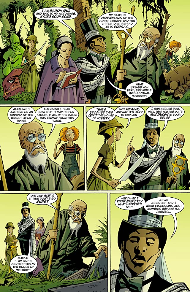 click for super-sized previews of House of Mystery (2008-2011) #42