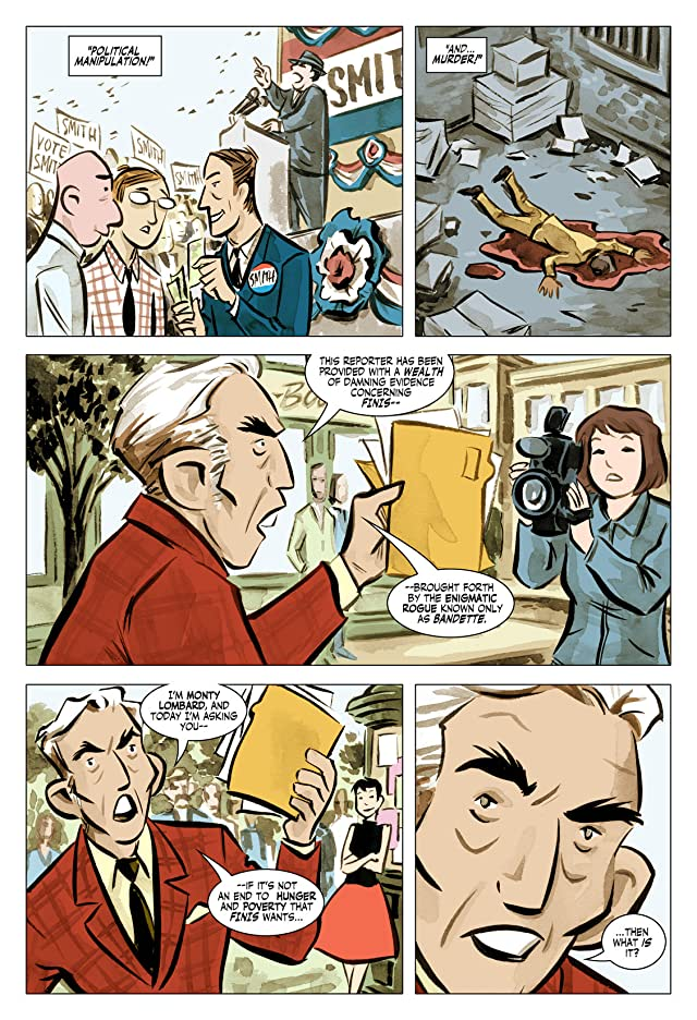 click for super-sized previews of Bandette #3