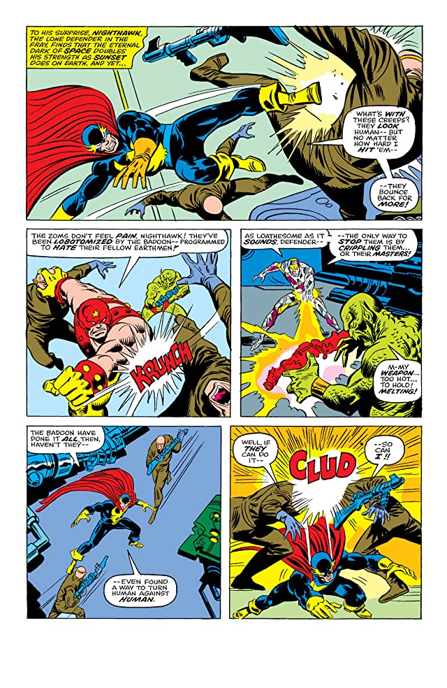 click for super-sized previews of Defenders (1972-1986) #28