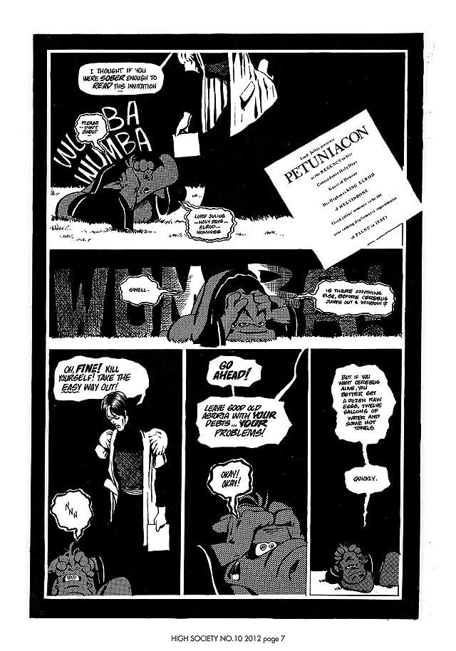 Cerebus Vol. 2 #10: High Society