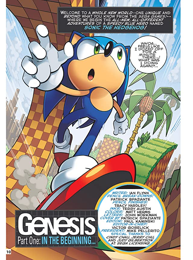 click for super-sized previews of Sonic Super Special Magazine #1