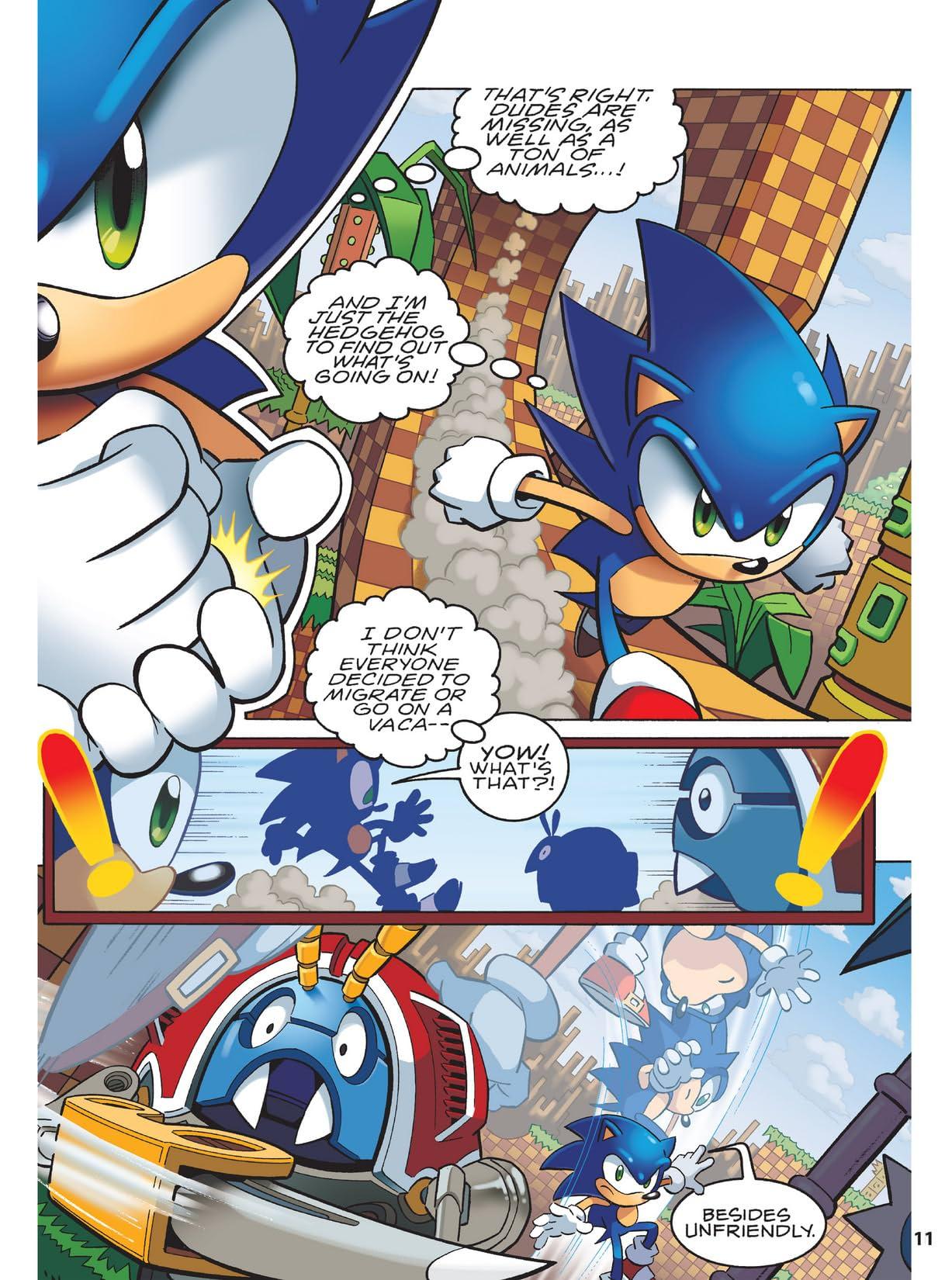 Sonic Super Special Magazine #1