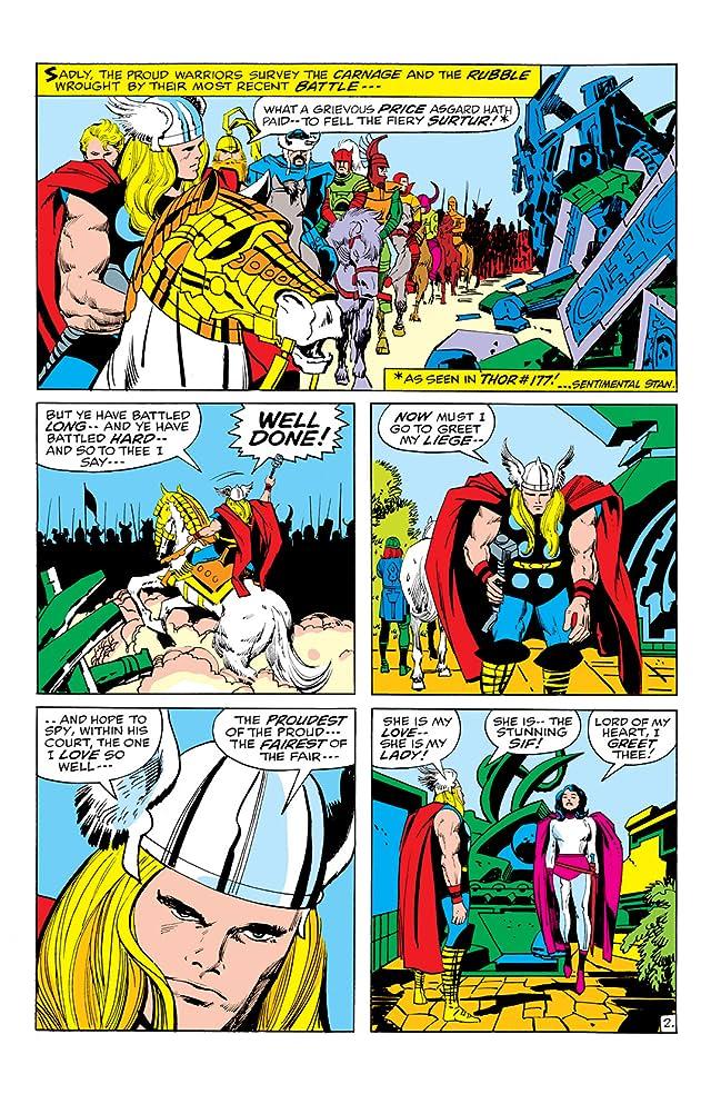 Thor (1966-1996) #179
