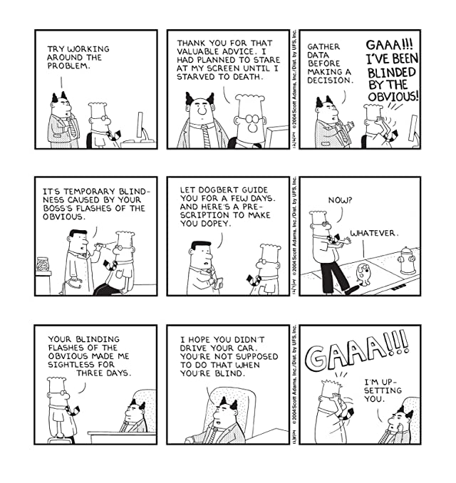 click for super-sized previews of Dilbert Vol. 26: Thriving on Vague Objectives