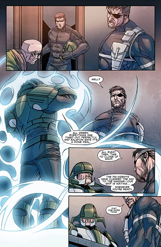 click for super-sized previews of Secret Warriors (2008-2011) #27