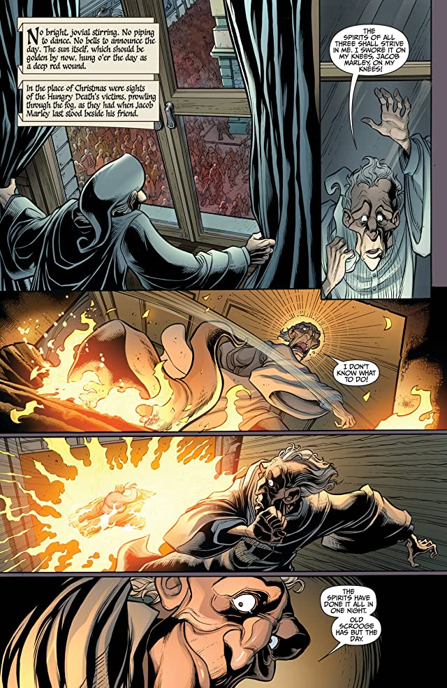click for super-sized previews of Marvel Zombies Christmas Carol #5