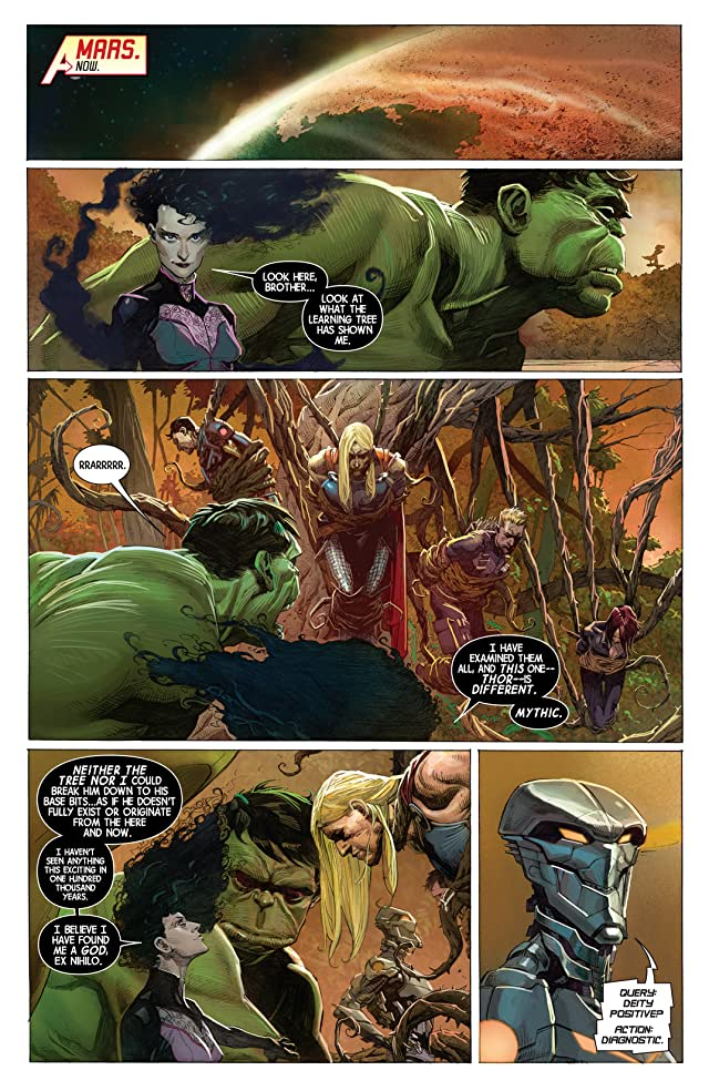 click for super-sized previews of Avengers (2012-2015) #2