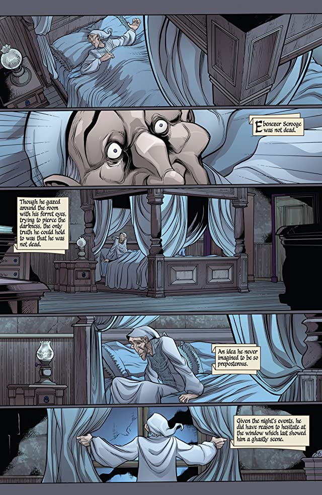 click for super-sized previews of Marvel Zombies Christmas Carol #2
