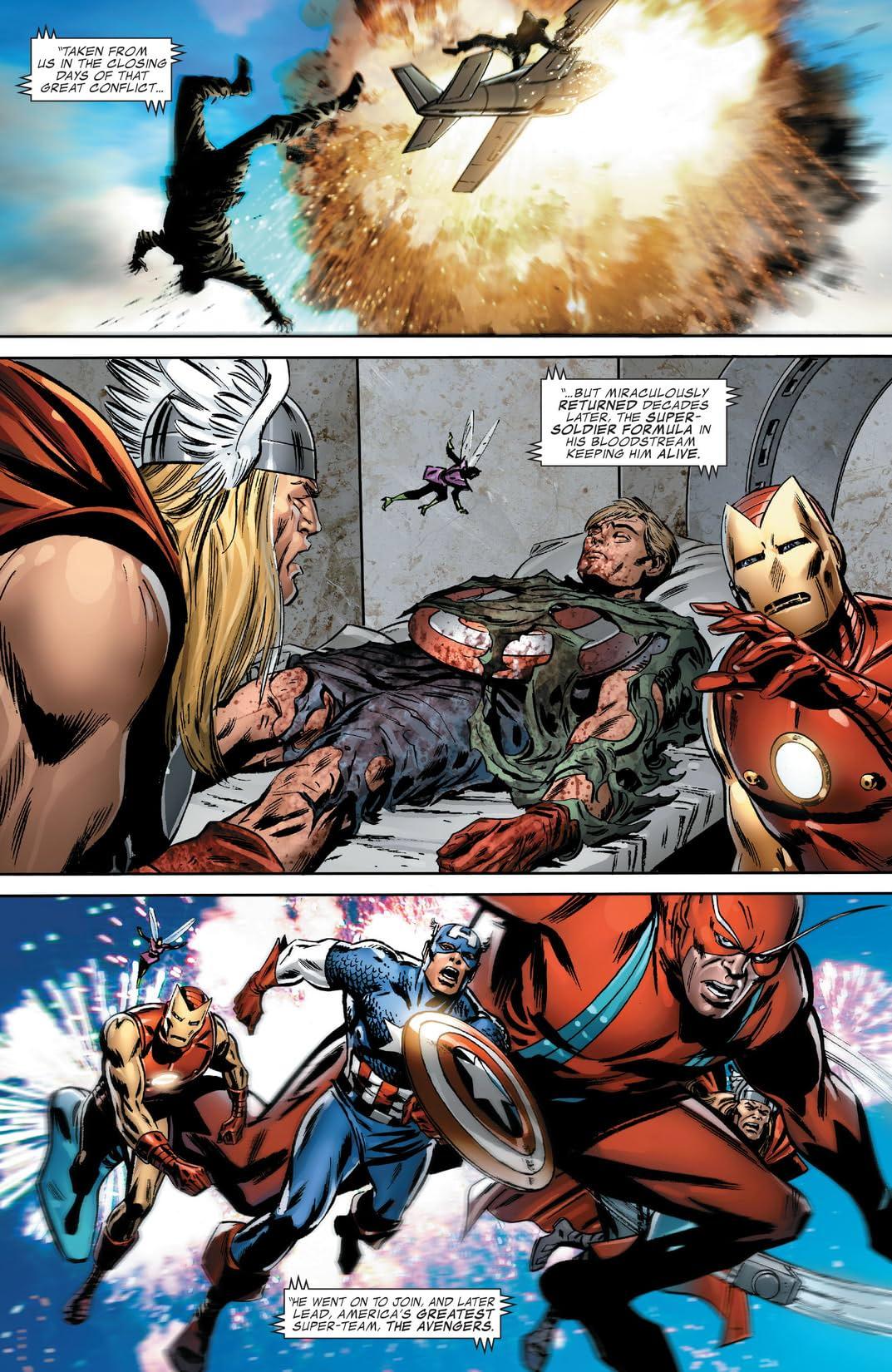Captain America (2004-2011) #600