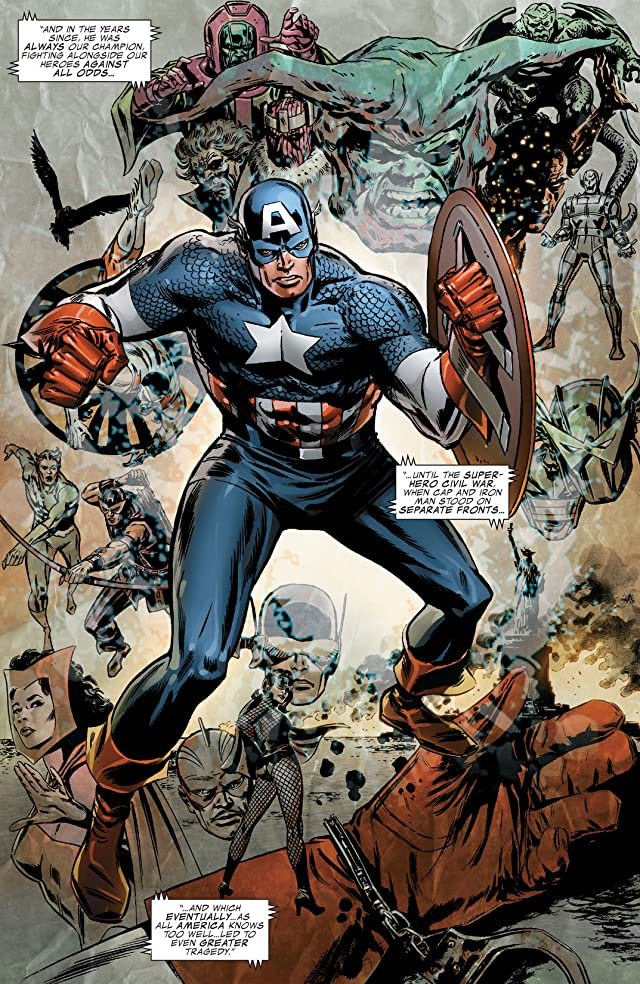 click for super-sized previews of Captain America (2004-2011) #600