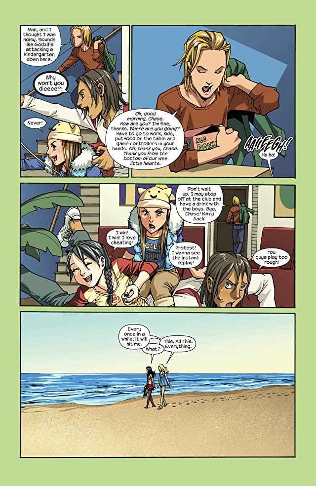 click for super-sized previews of Runaways (2008-2009) #7