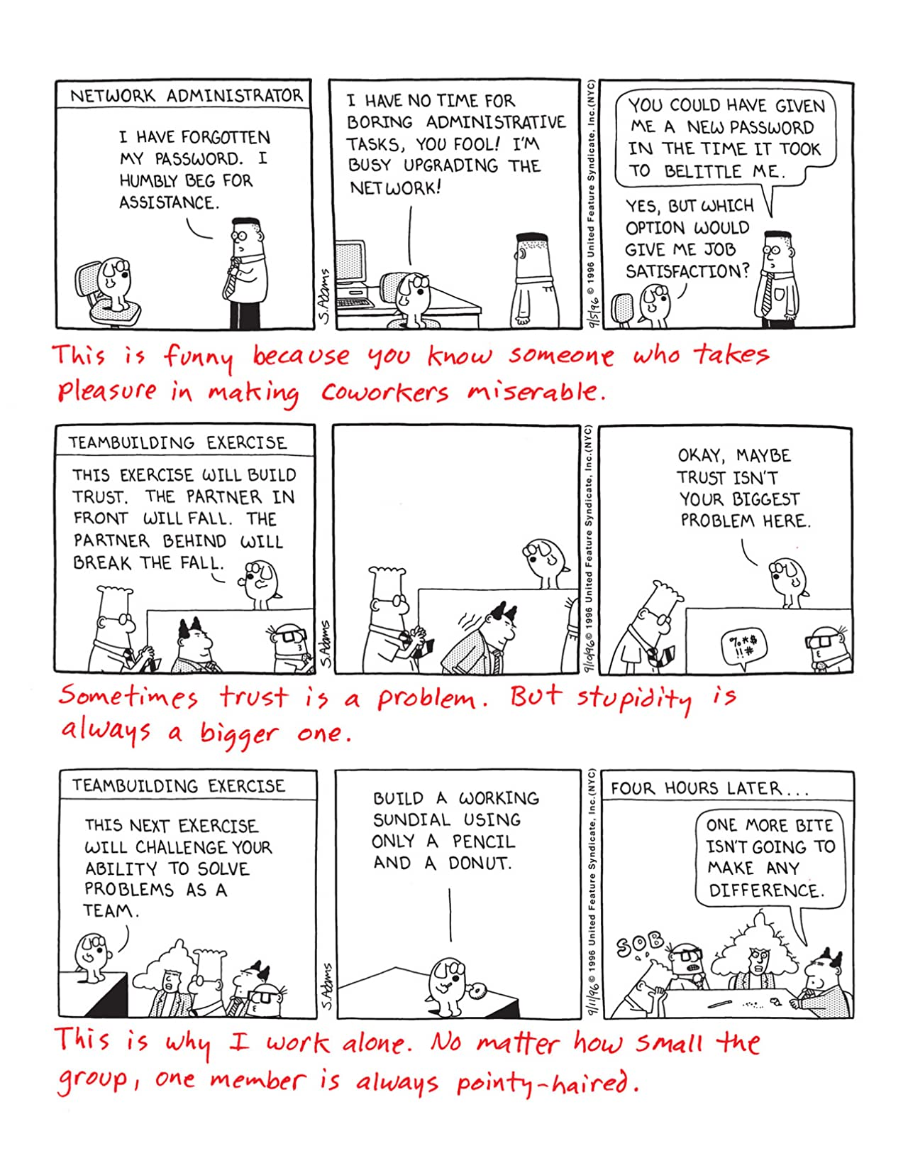 Dilbert Vol. 24: It's Not Funny If I Have to Explain It