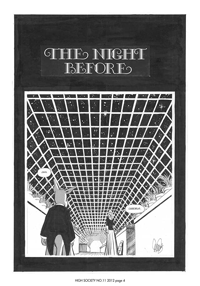 Cerebus Vol. 2 #11: High Society