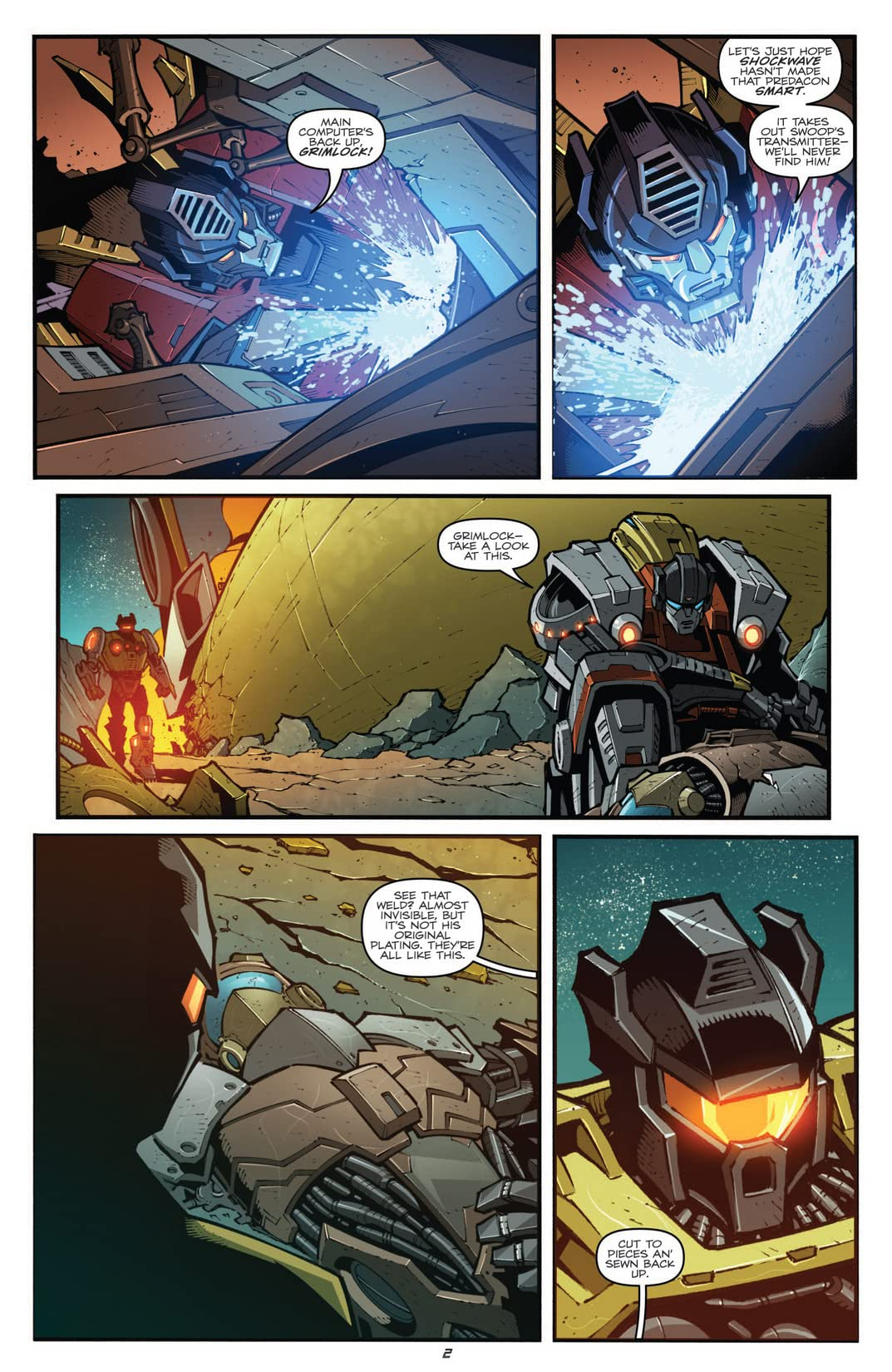 Transformers: Prime - Rage of the Dinobots #2 (of 4)