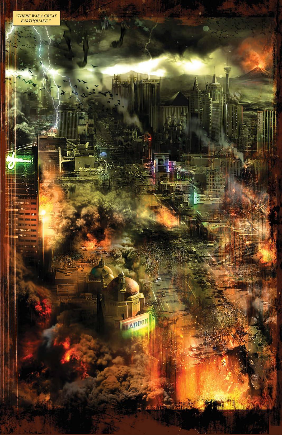 Four Horsemen of the Apocalypse #7 (of 9): Resurrection