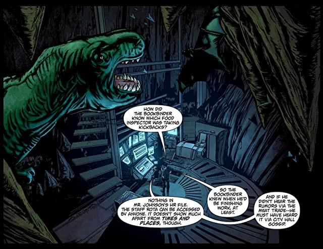 click for super-sized previews of Batman: Arkham Unhinged #54