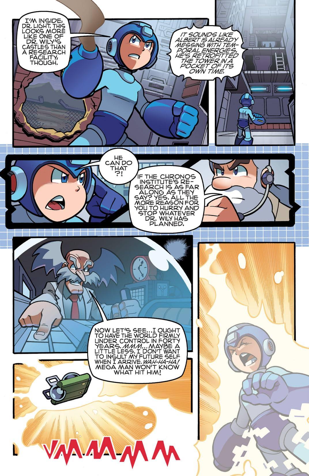 Mega Man #20
