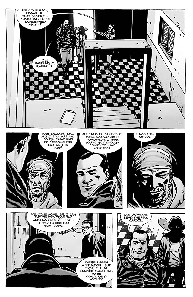 click for super-sized previews of The Walking Dead #105