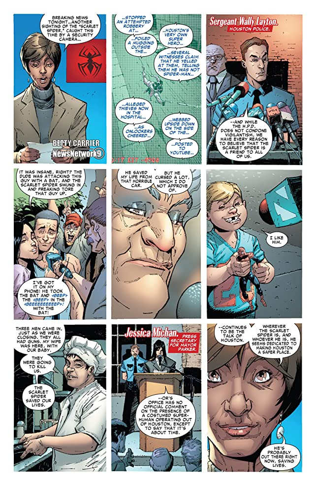 click for super-sized previews of Scarlet Spider #6