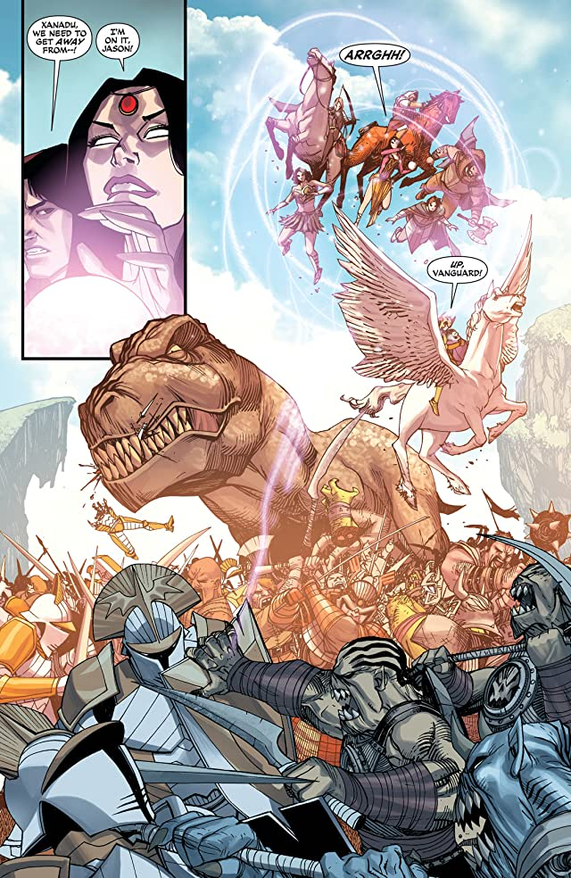 click for super-sized previews of Demon Knights (2011-2013) #15