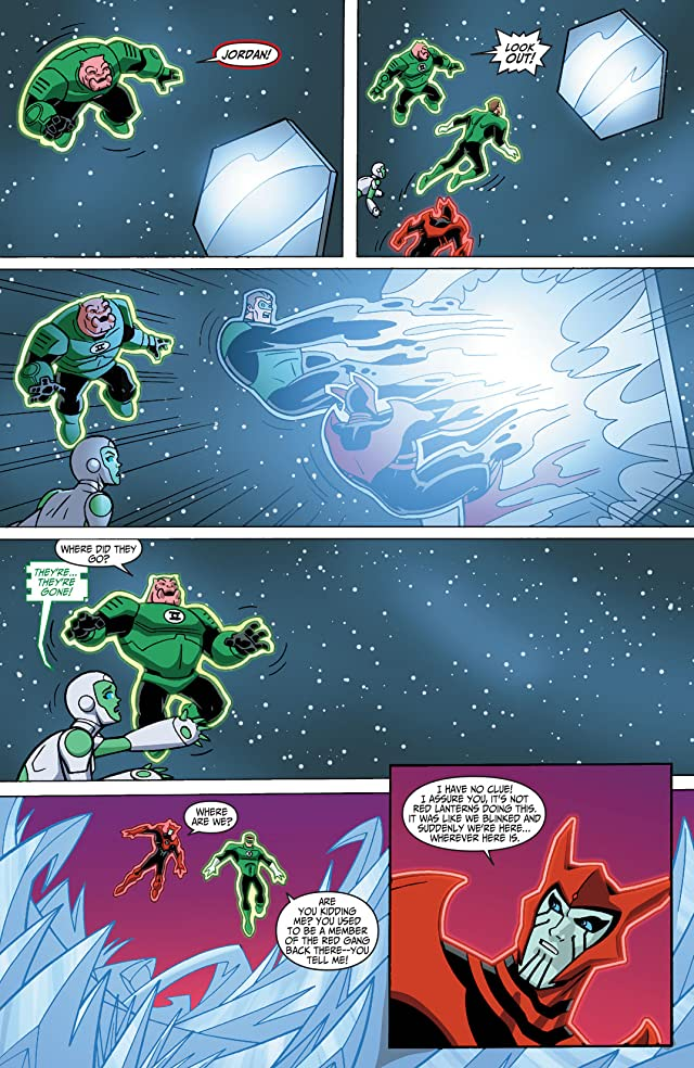 click for super-sized previews of Green Lantern: The Animated Series #9