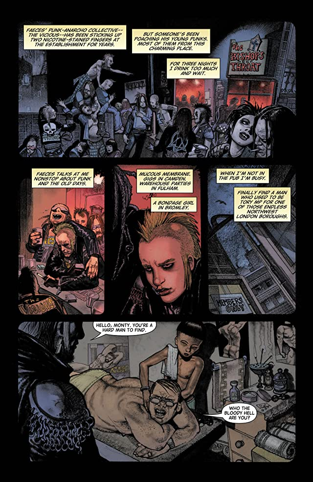 click for super-sized previews of Hellblazer #266