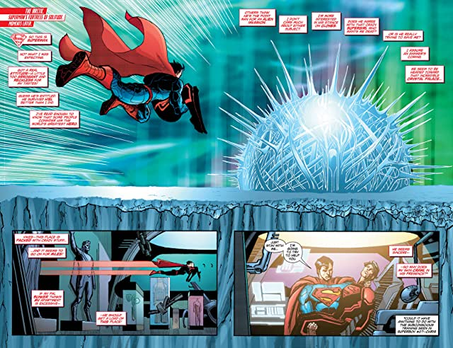 click for super-sized previews of Superboy (2011-2014) #15