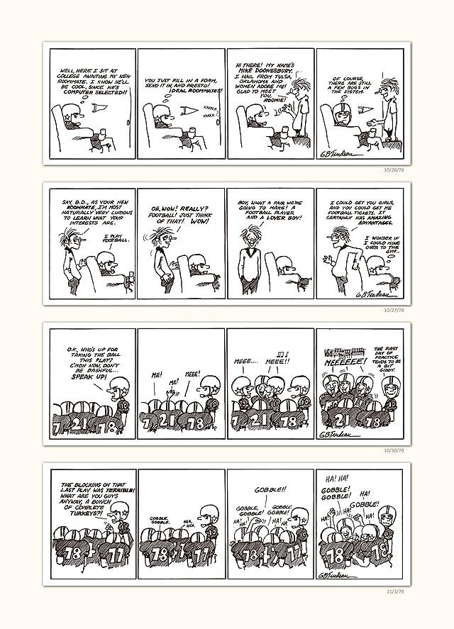 click for super-sized previews of Doonesbury 40 Vol. 1: A Doonesbury Retrospective 1970 to 1979