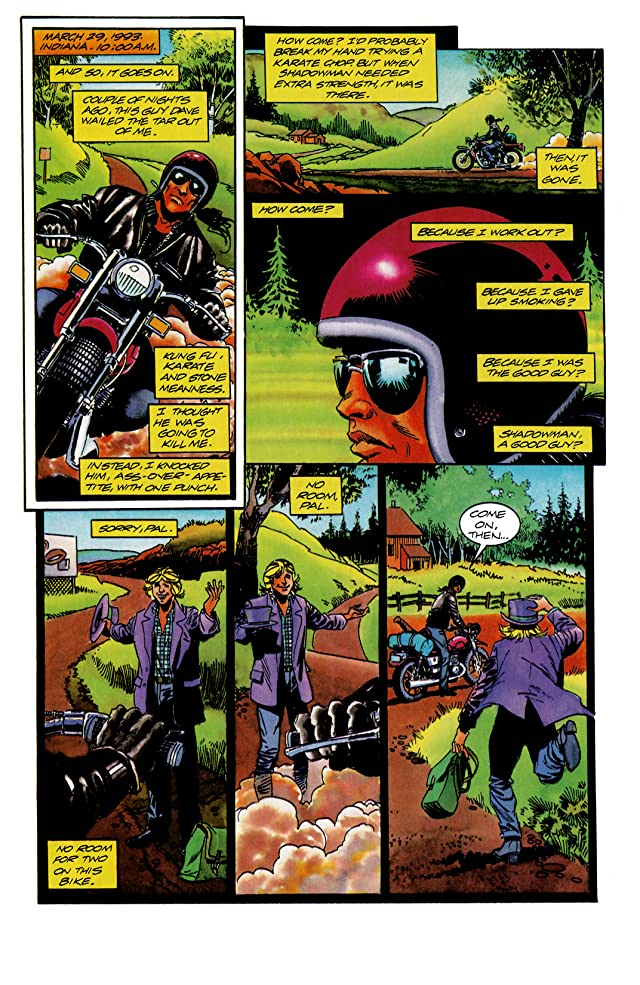 click for super-sized previews of Shadowman (1992-1995) #15