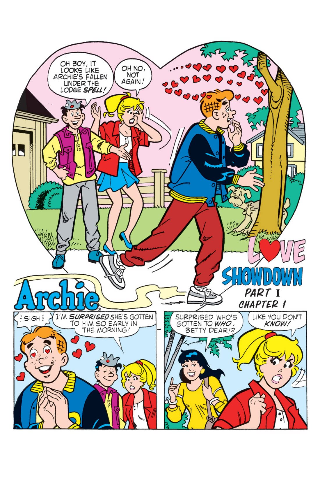 Archie: Love Showdown - Chapter 1