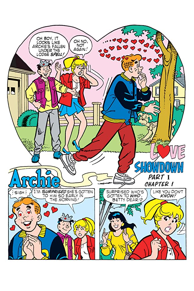 click for super-sized previews of Archie: Love Showdown - Chapter 1