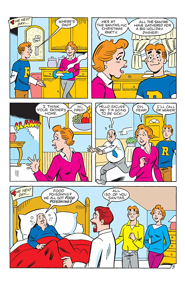 click for super-sized previews of Archie: Holiday Hijinks