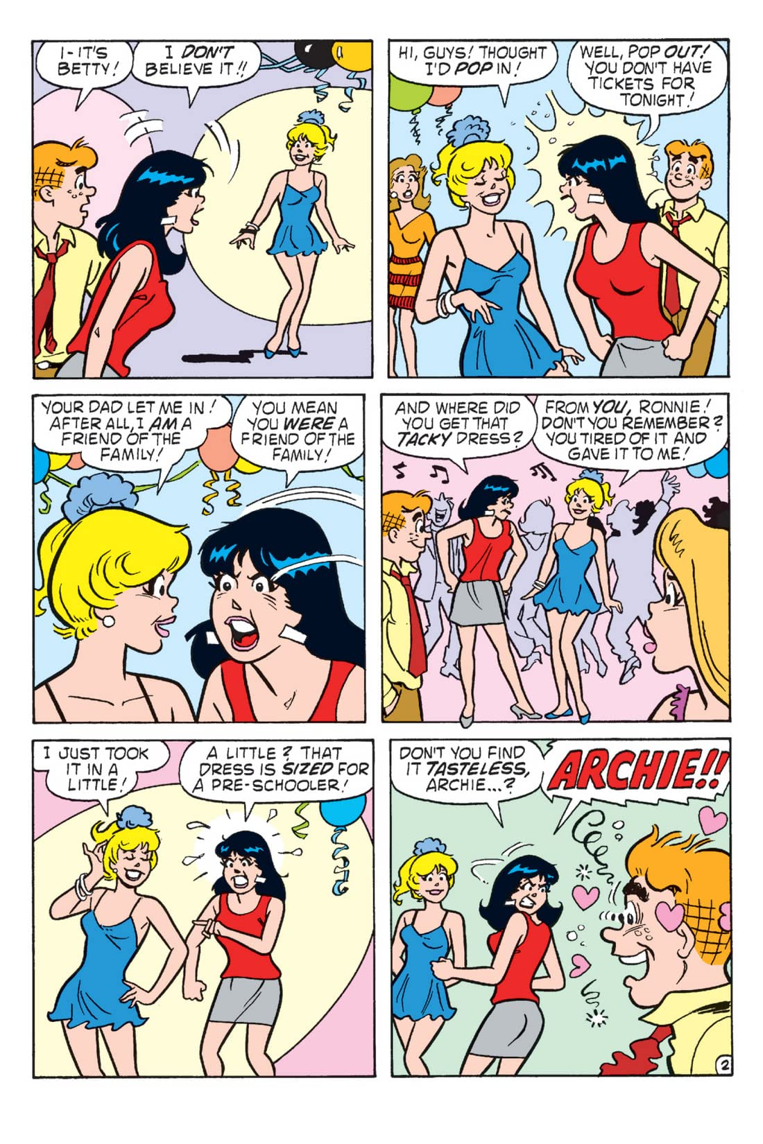 Archie: Love Showdown - Chapter 3