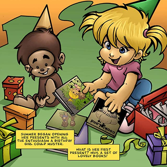 click for super-sized previews of Summer and Her Monkey: Temperance