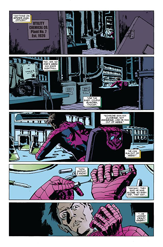 click for super-sized previews of Amazing Spider-Man (1999-2013) #645