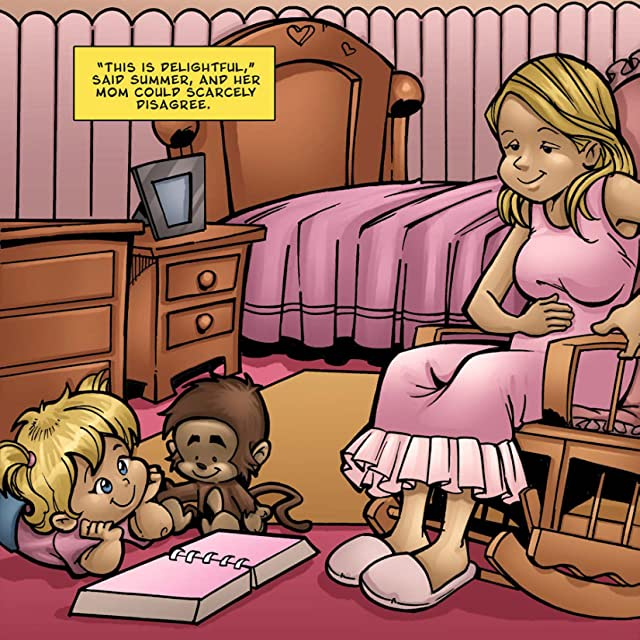 click for super-sized previews of Summer and Her Monkey: Faith