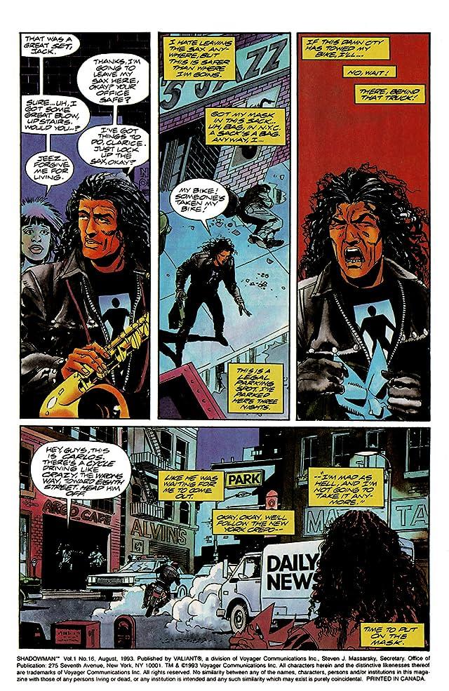 Shadowman (1992-1995) #16