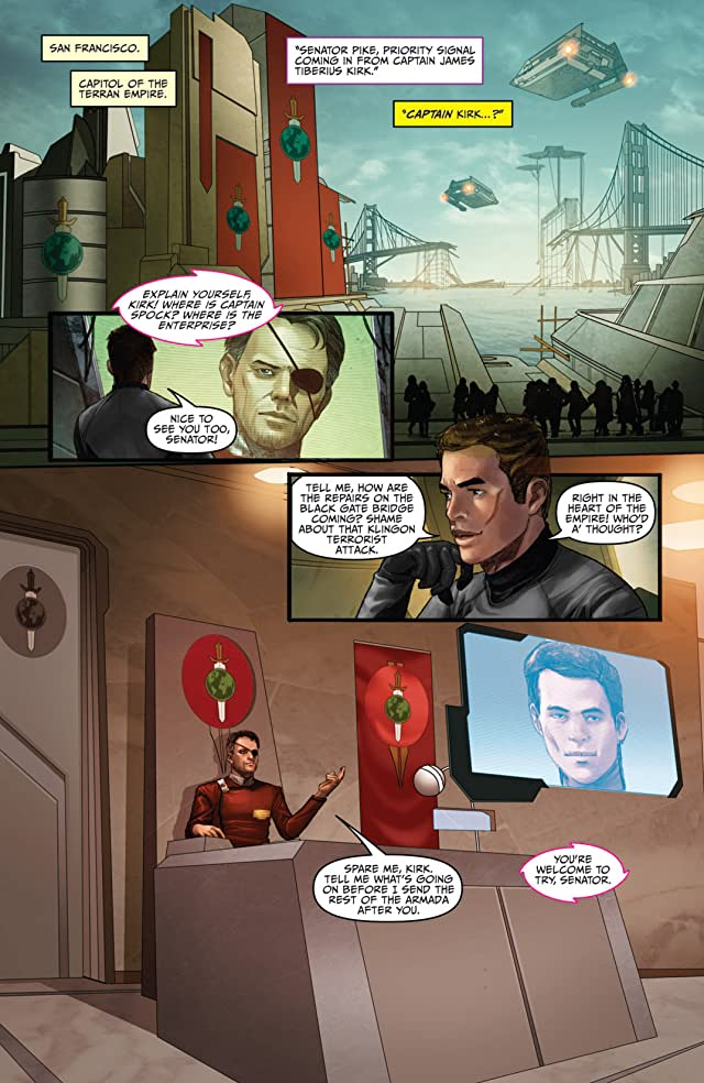 click for super-sized previews of Star Trek (2011-) #16