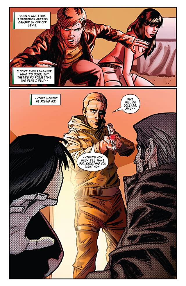 click for super-sized previews of MacGyver: Fugitive Gauntlet #3