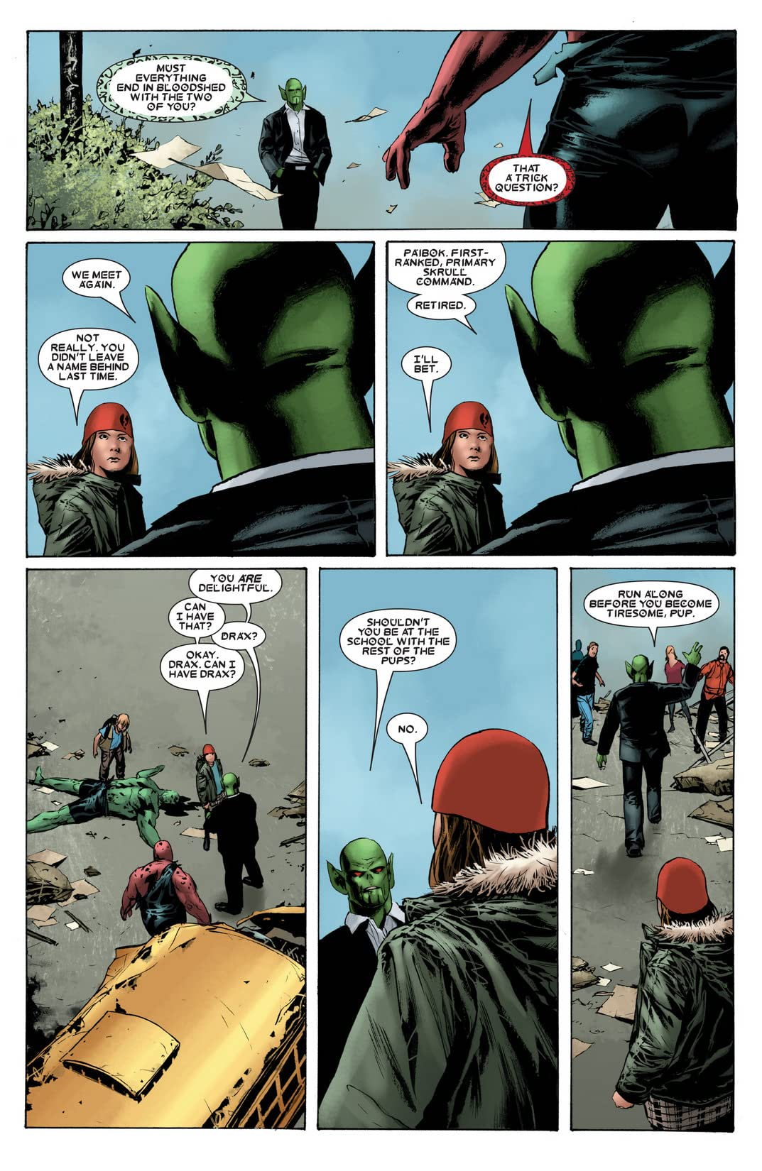 Drax the Destroyer #3