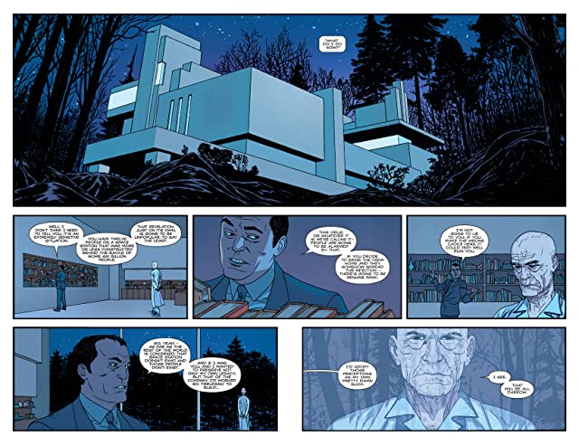 click for super-sized previews of Nowhere Men #2