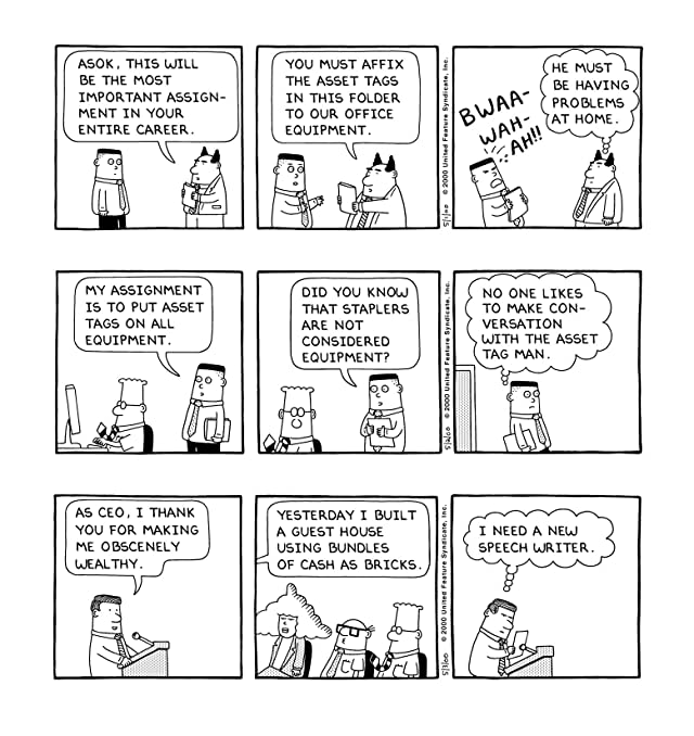 click for super-sized previews of Dilbert Vol. 18: When Did Ignorance Become a Point of View