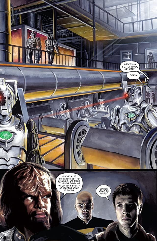 click for super-sized previews of Star Trek: The Next Generation/Doctor Who: Assimilation #8