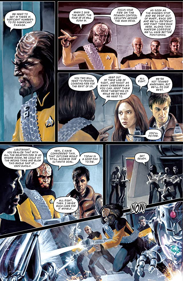 Star Trek: The Next Generation/Doctor Who: Assimilation #8