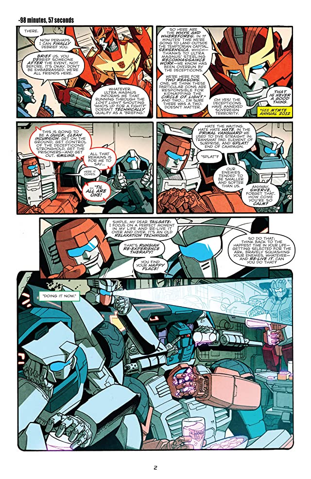 Transformers: More Than Meets the Eye (2011-) #12