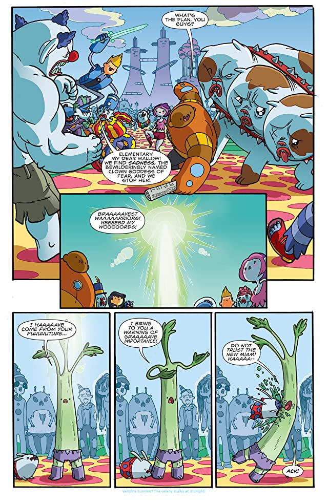 click for super-sized previews of Bravest Warriors #3