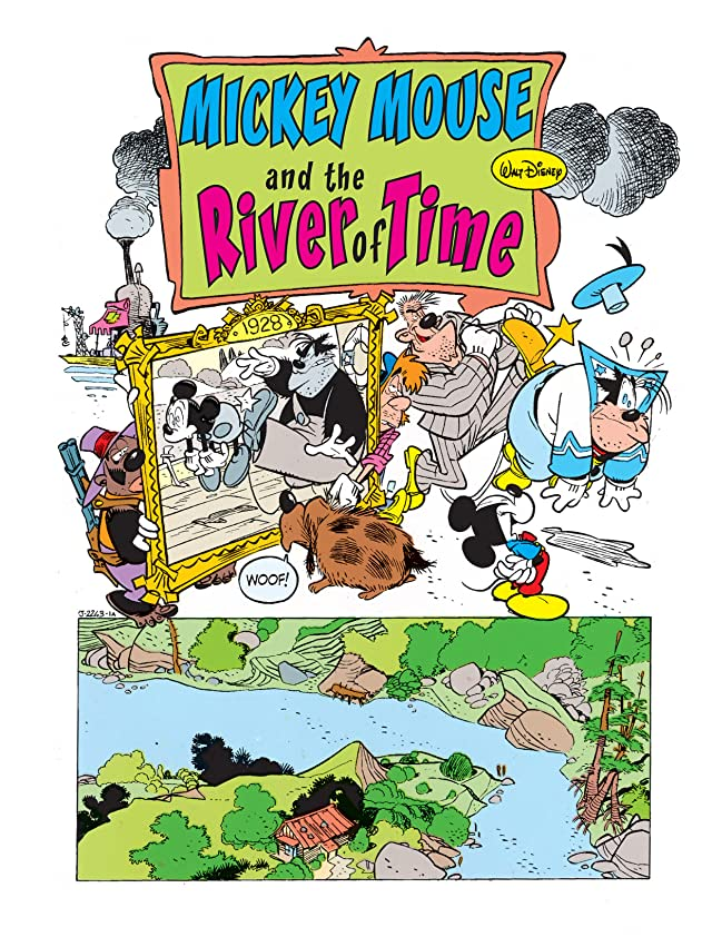 click for super-sized previews of Mickey Mouse in the River of Time #1