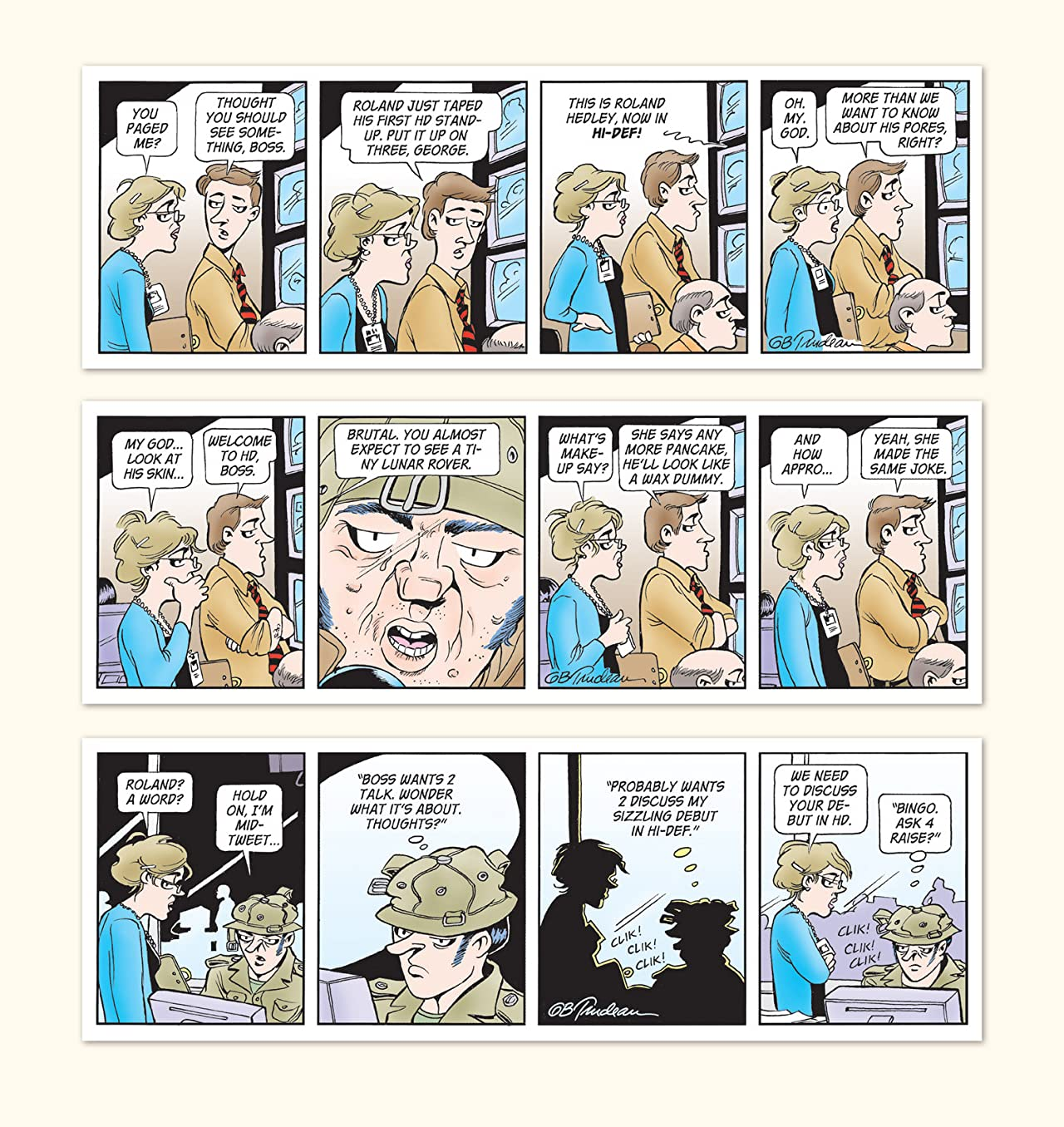 Doonesbury Vol. 34: Red Rascal's War