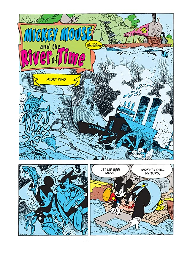 click for super-sized previews of Mickey Mouse in the River of Time #2