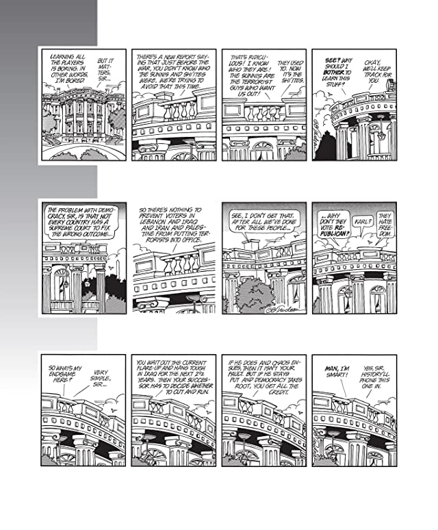 click for super-sized previews of Doonesbury Vol. 30: Welcome to the Nerd Farm!